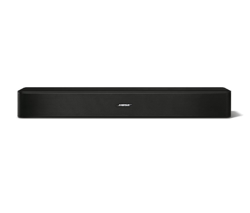 new bose solo 5 tv sound bar speaker sound system black new and sealed ebay. Black Bedroom Furniture Sets. Home Design Ideas