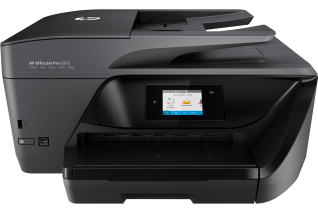 HP OfficeJet Pro 6970 All-in-One, Center, Front, no output