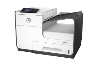 HP PageWide Pro 452dw Printer, Left facing, no output