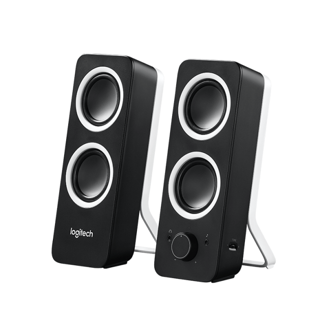 logitech computer speakers. logitech z200 2.0 pc speakers - white logitech computer n