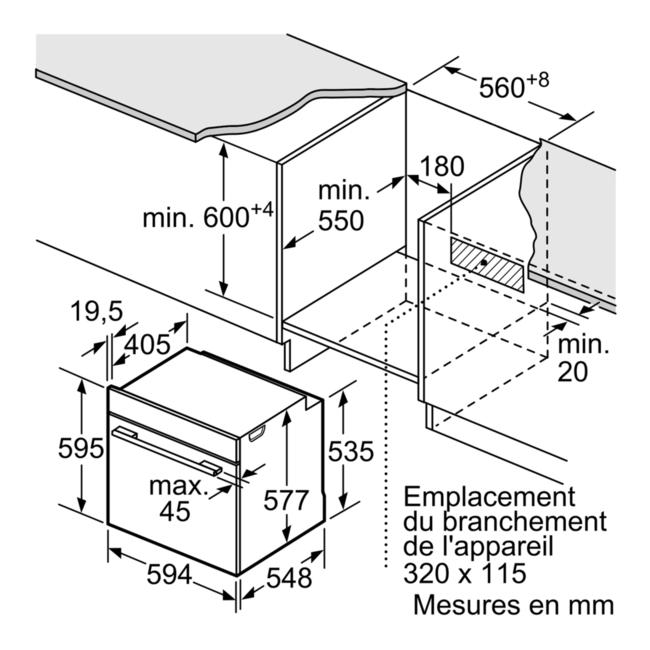 Four Encastrable Siemens Iq700 Hb675g0w1f Darty