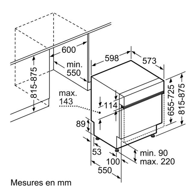Lave Vaisselle Encastrable Bosch Smi68ms02e Darty