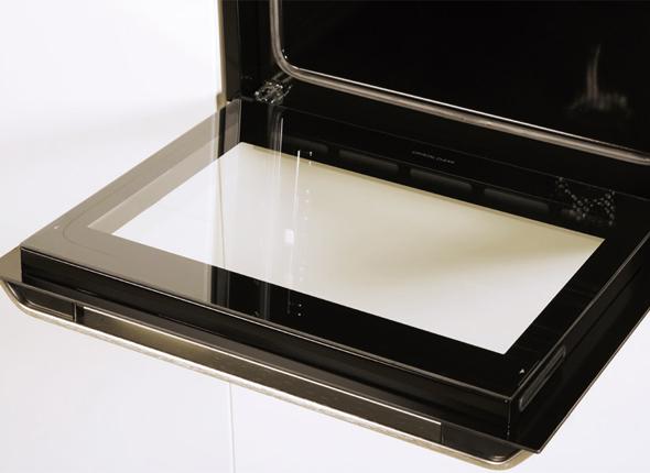 Easy To Remove Full Glass Inner Door