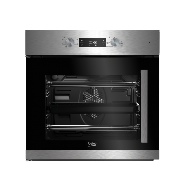 60cm Single Fan Oven With Led Timer And Side Opening Door