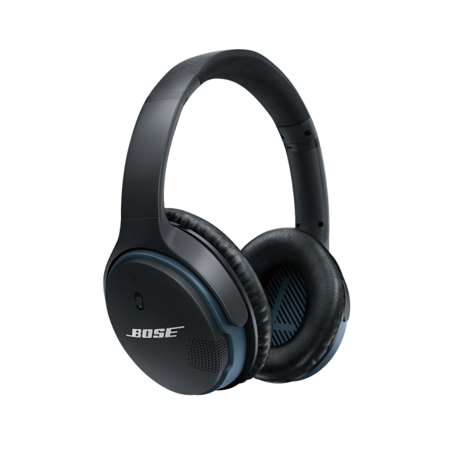 Bose SoundLink II Over-Ear Wireless Headphones with Mic - Black ...