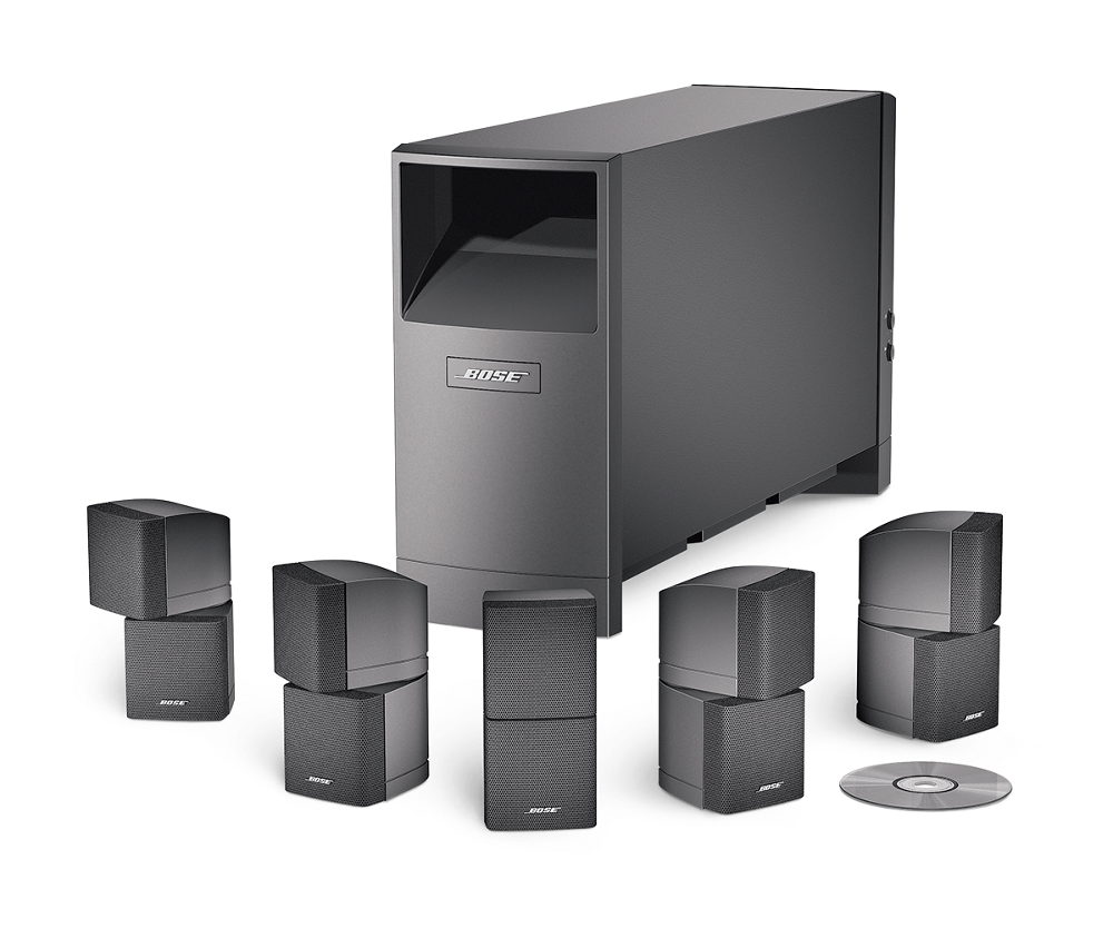 The pinnacle of Bose's Acoustimass Series V speaker system series, the  Acoustimass® 10 is a 5.1 channel install aimed at component-minded home  cinema ...