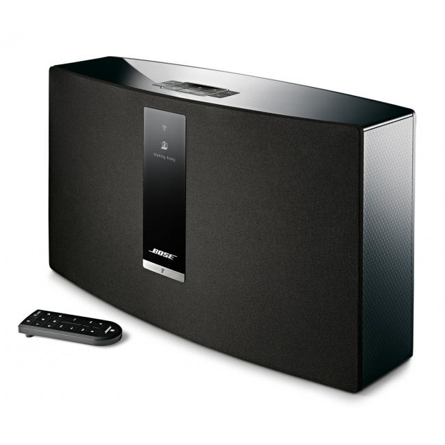 bose soundtouch 30 iii haut parleur sans fil ethernet bluetooth wi fi noir dell canada. Black Bedroom Furniture Sets. Home Design Ideas
