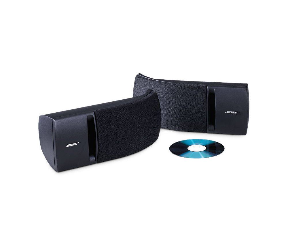 BoseR 161 Stereo Speakers Bring Bose Sound Performance To Your Living Room Study Or Office And If You Prefer Not Use Them As Bookshelf