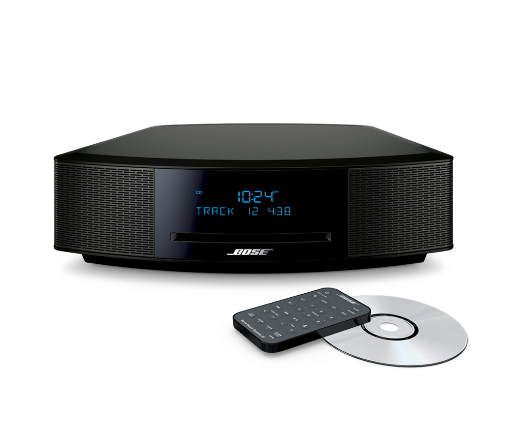 new sealed bose wave music system iv cd player radio alarm espresso black ebay. Black Bedroom Furniture Sets. Home Design Ideas