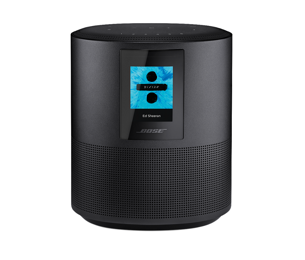 Bose Home Speaker 500 Bluetooth Wi Fi Triple Black Dell Speech Amplifier Box With Built In Voice Control From Alexa You Get Songs Playlists And More At The Tip Of Your Tongue Have Freedom To