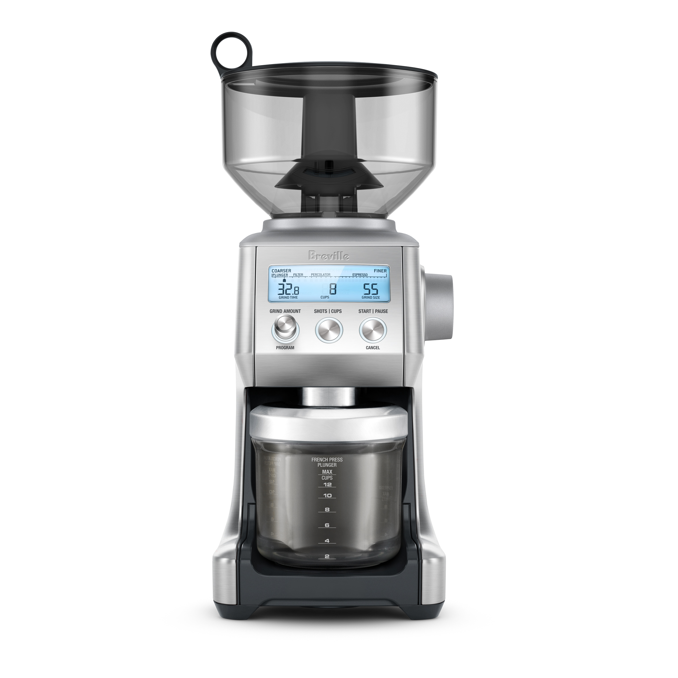 Automatically Doses The Same Amount Every Time You Grind The Perfect Coffee  Needs A Precise Amount Of Freshly Ground Beans But Adjustments In Grind  Size