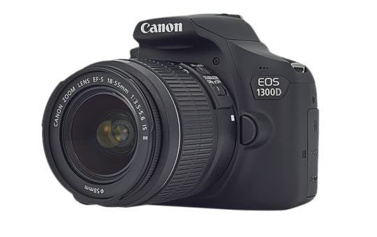 Canon EOS 1300D + EF-S 18-55 IS II Kit fotocamere SLR 18MP CMOS 5184 ...