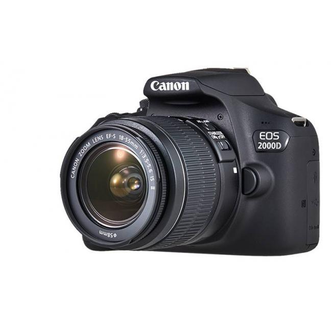 636fb199b3d3 Зеркальный фотоаппарат EOS 2000D EF-S 18-55 IS II KIT - купить ...