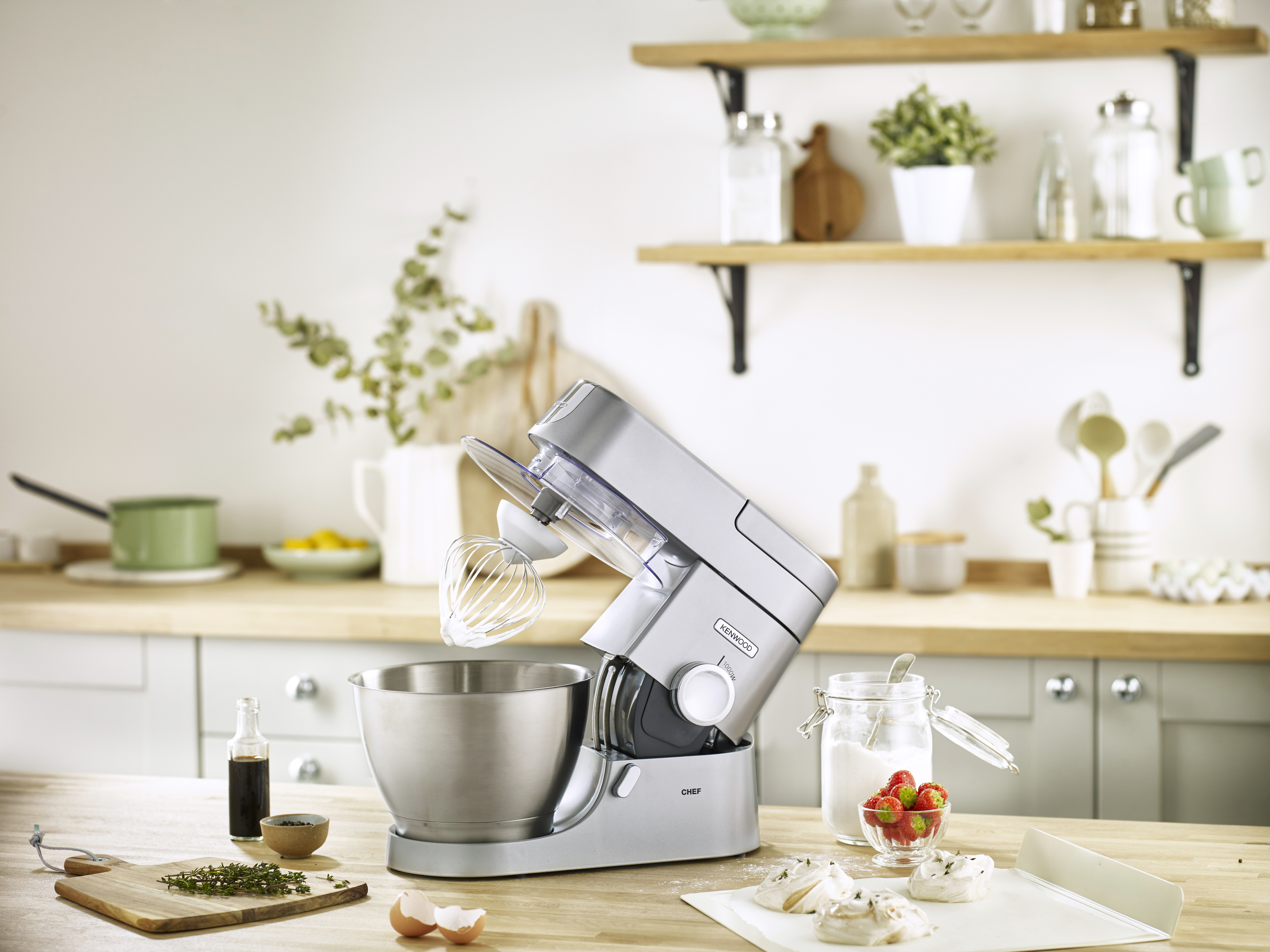 Kenwood KVL4100S Chef XL Stand Mixer at The Good Guys