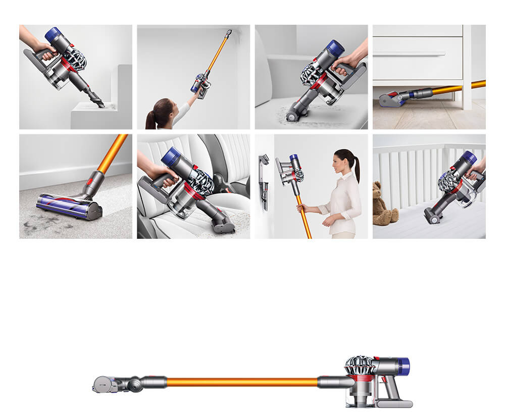 Dyson V8 Absolute Cordless Bagless Vacuum Cleaner Ebay