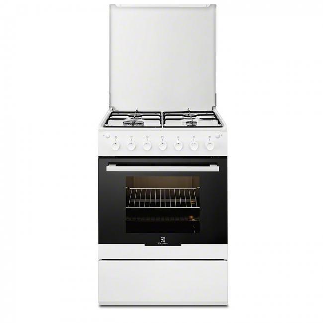 Gaziniere Electrolux EKGOW Darty - Cuisiniere gaz four multifonction pour idees de deco de cuisine