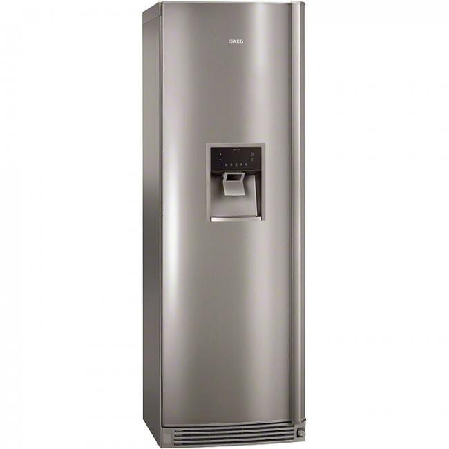 køleskab med isdispenser