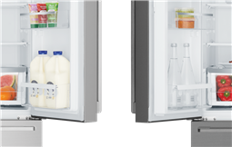 Westinghouse 610L Side by Side Fridge, ice and water dispenser_WSE6170SA