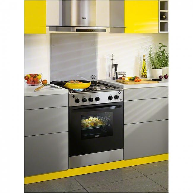Hermoso cocina de gas butano carrefour im genes super for Cocina zanussi zcg61211xa