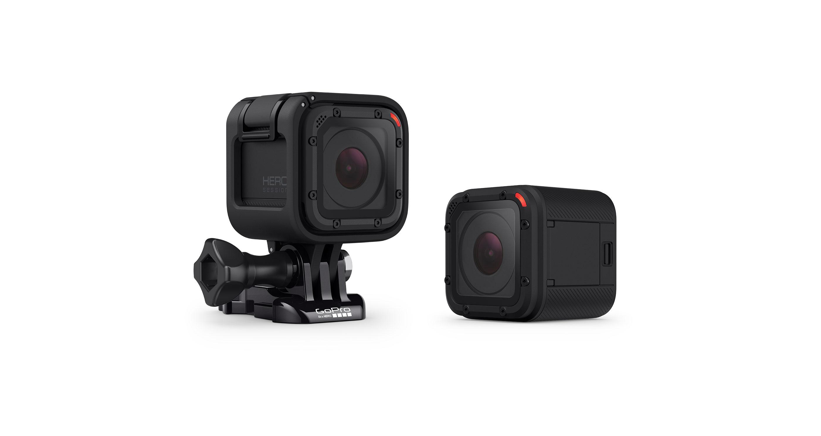 GoPro HERO Session Waterproof HD Sports & Helmet Camera : Wearable ...