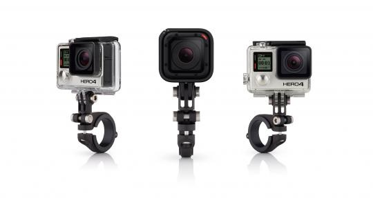 GoPro Pro Handlebar/Seatpost/Pole Mount for All Cameras