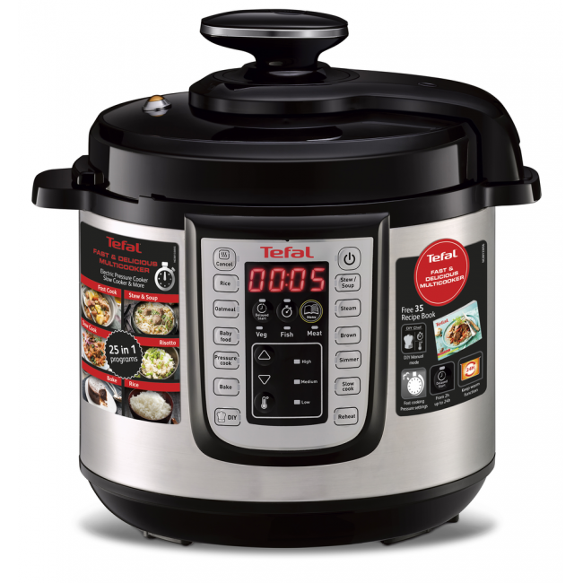 Tefal Cy505 Fast Delicious Multicooker 6l At The Good Guys