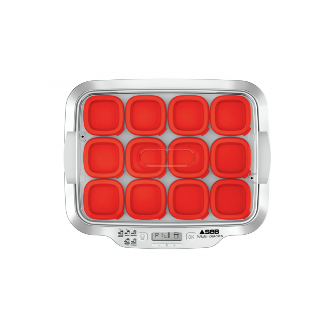 Yaourtiere Seb Yaourtiere Multidelices Express 12 Pots Rouge Darty