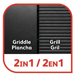 Tefal TG804D14 Barbecue Électrique BBQ Family Flavor 2 en 1