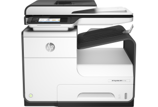 HP PageWide MFP 377dw MFP, Center, Front, no output