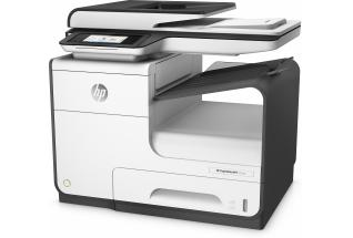 HP PageWide MFP 377dw MFP, Left facing, no output