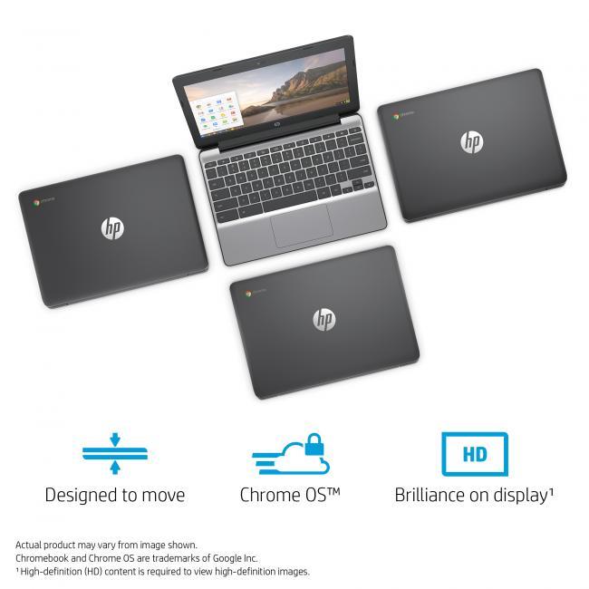 HP Chromebook 11-v010nr Laptop, 11 6