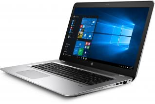 HP ProBook 470 G4, (nontouch) with Windows 10 screen, Catalog, Left Facing