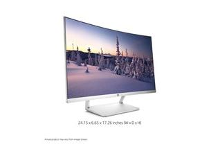 1C17 - HP 27 Curved Monitor