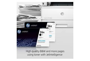 HP LaserJet Pro MFP M426fdn, annotated, high-quality and more pages with JetIntelligence