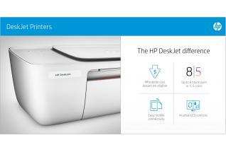 DeskJet 3721 Wi-Fi Printer - Sea Grass