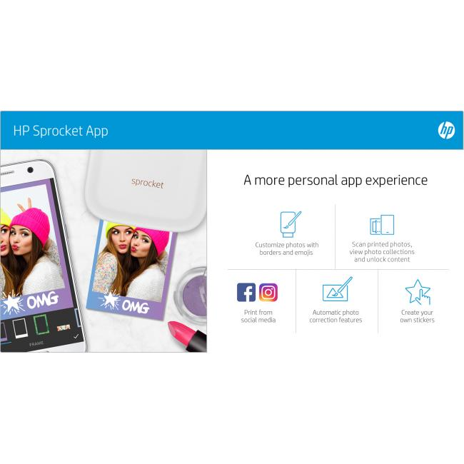 Impulse - HP Sprocket - eTail - Infographic Smart App