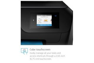 Weber - HP OfficeJet Pro 8710 - eTail - Dynamic Touch Screen