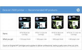 HP Y5H69A DeskJet Wireless Inkjet MFC Printer 2623 at The Good Guys