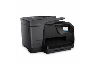 HP OfficeJet Pro 8710 All-in-One, right facing