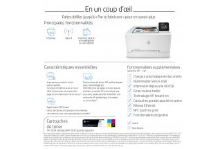 Aurora - HP Color LaserJet Pro M254dw - eTail - At a Glance - French
