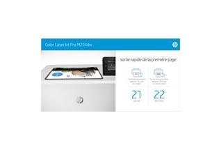 Aurora - HP Color LaserJet Pro M254dw - eTail - Infographic Fast - French