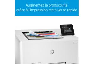 Aurora - HP Color LaserJet Pro M254dw - eTail - Blue Bar Two Sided - French