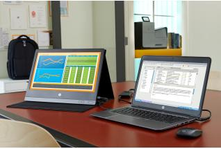 HP EliteBook Folio 1040 paired with the HP U160 and accessories with the HP Officejet Enterprise Col