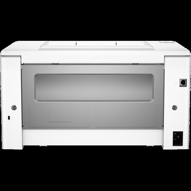 HP LaserJet Pro M102w, Back