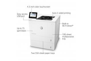 HP LaserJet Enterprise M609x (A4) Mono Laser Printer 512MB
