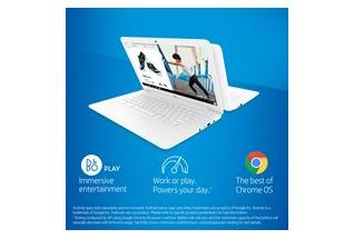 18C2 - HP Chromebook 14-db0070nr (14.0, touch, snow white), annotated, key selling points