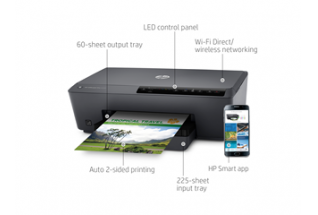 HP Officejet Pro 6230, Front walkaround