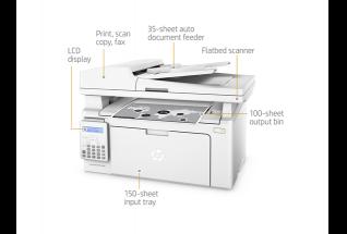 HP LaserJet Pro M130fn Mono Laser Multifunction Printer A4