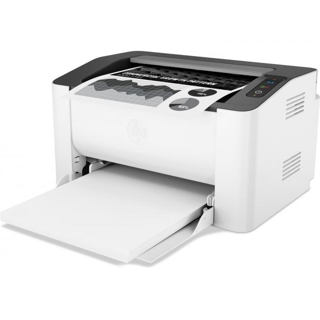 HP Laser 107w - Mirage Wireless Intput Tray With Output
