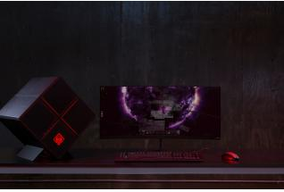 1c17 - OMEN X by HP 35 Curved Display with Omen X by HP PC and OMEN Mouse